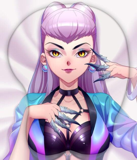 이블린 3D 가슴 마우스패드